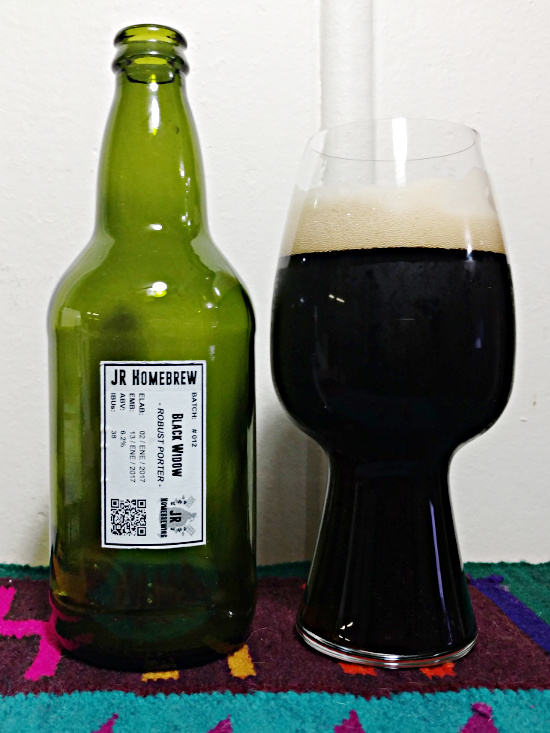 Botella Black Widow Porter