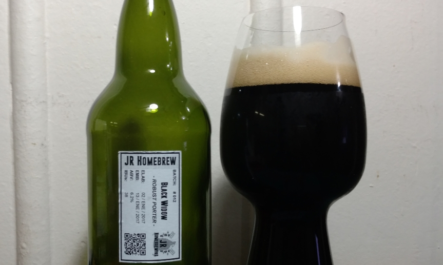 Degustación Black Widow Porter | Robust Porter