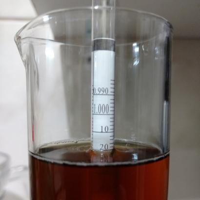Densidad Final Belgian Pale Ale
