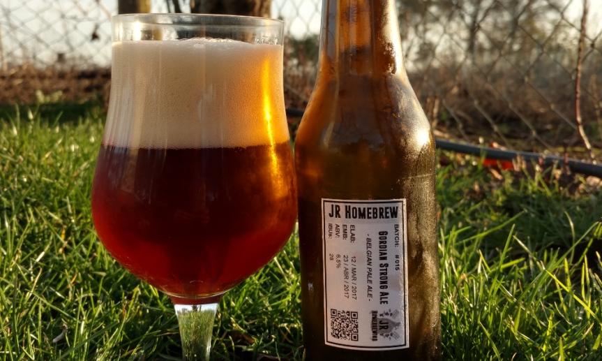 Degustación Gordian Strong Ale | Belgian PaleAle