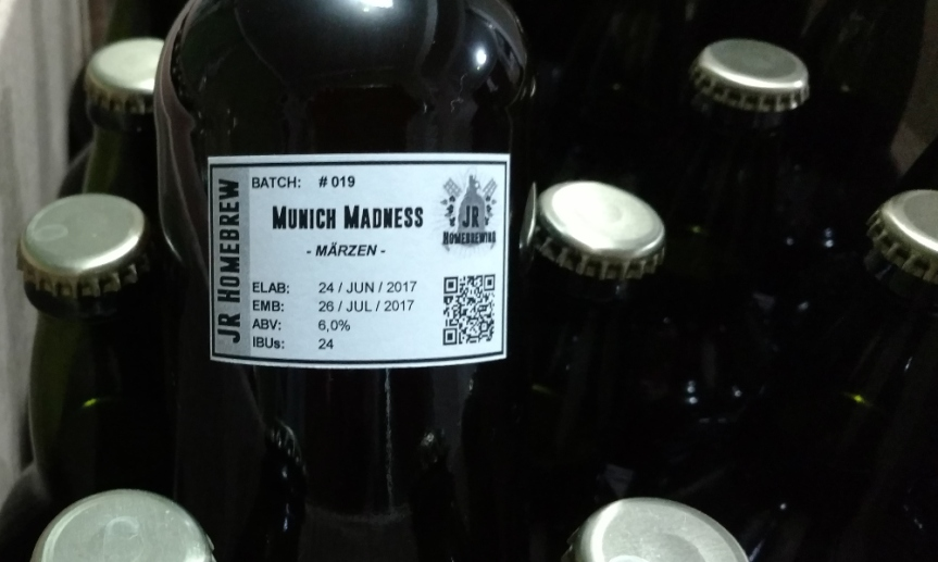 Receta Märzen | Batch № 19 Munich Madness