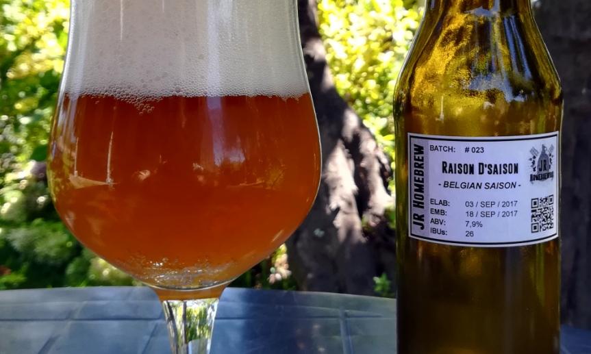 Degustación Raison D'Saison | BelgianSaison
