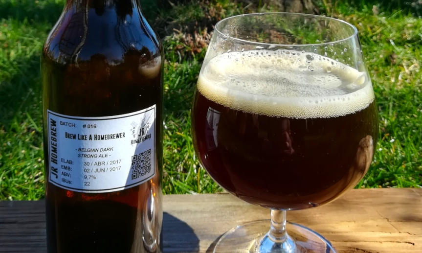 Degustación Brew Like A Homebrewer | Belgian Dark StrongAle