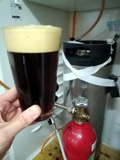 First Pour Corny Keg