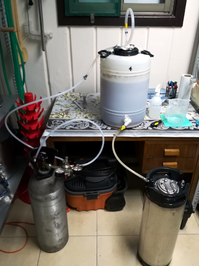 Moscale Dry-Hopping