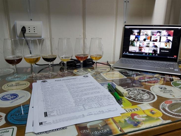 Beer Sensory Class