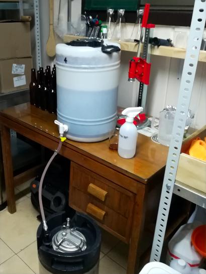 All New Porter Bottles and Keg